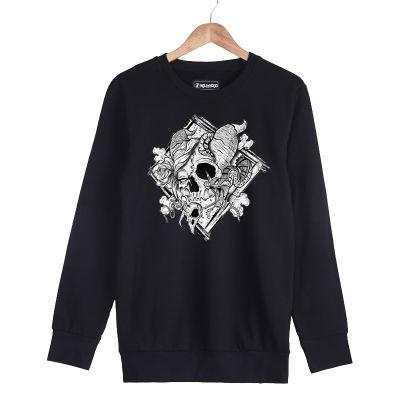 HH - Jora Rebirth Siyah Sweatshirt