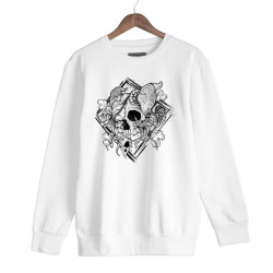 Jora - HH - Jora Rebirth Beyaz Sweatshirt