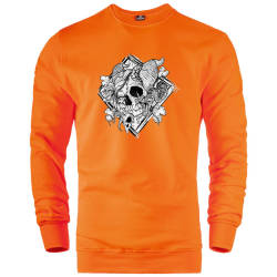 İndirim - HH - Jora Rebirth Turuncu Sweatshirt (Fırsat Ürünü)