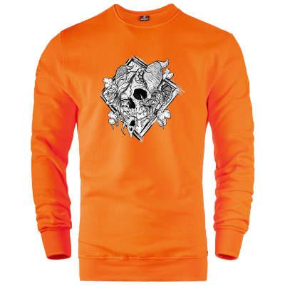 HH - Jora Rebirth Turuncu Sweatshirt (Fırsat Ürünü)