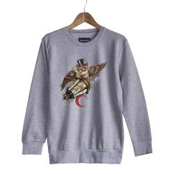 Jora - HH - Jora Owl Gri Sweatshirt