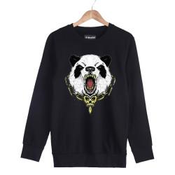 Jora - HH - Jora Panda Siyah Sweatshirt