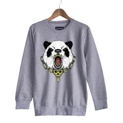 Jora - HH - Jora Panda Gri Sweatshirt