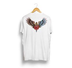 Outlet - HH - Jora Wings Beyaz T-shirt (Seçili Ürün)