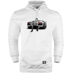 HH - Keişan Lamborghini Cepli Hoodie - Thumbnail