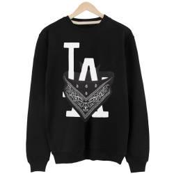 İndirim - HH - L.A. Bandana Siyah Sweatshirt (Fırsat Ürünü)