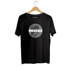 Outlet - HH - Liberty Siyah T-shirt (Fırsat Ürünü)