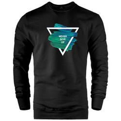 HH - Never Give Up Sweatshirt (Değişim ve İade Yoktur) - Thumbnail