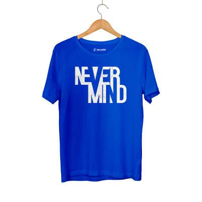 HH - Never Mind Mavi T-shirt (Seçili Ürün)