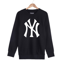 HollyHood - HH - NY Big Siyah Sweatshirt