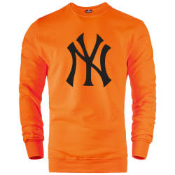İndirim - HH - NY Big Turuncu Sweatshirt (Fırsat Ürünü)