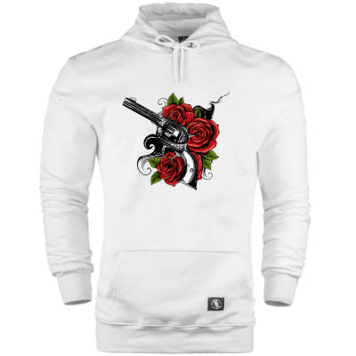 HH - Rose Gun Cepli Hoodie