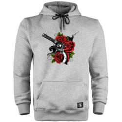 HH - Rose Gun Cepli Hoodie - Thumbnail