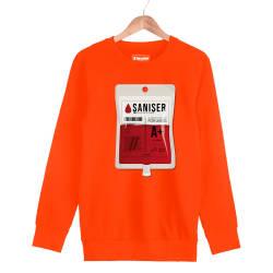 Şanışer - HH - Şanışer Blood Turuncu Sweatshirt
