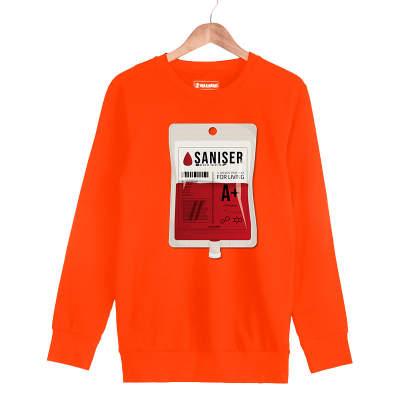 HH - Şanışer Blood Turuncu Sweatshirt