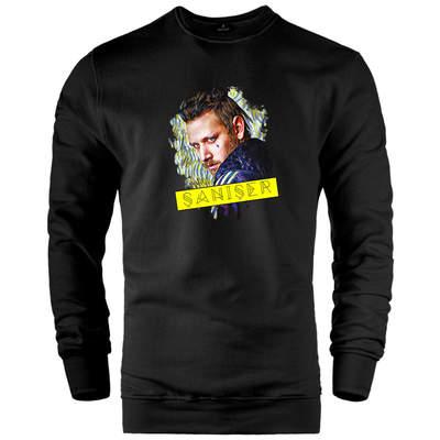 HH - Şanışer Jungle Siyah Sweatshirt (Değişim ve İade Yoktur)