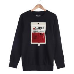 Şanışer - HH - Şanışer Blood Siyah Sweatshirt