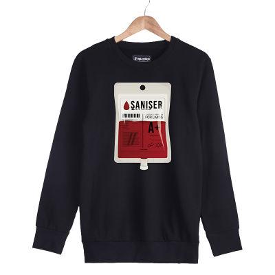 HH - Şanışer Blood Siyah Sweatshirt