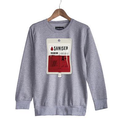 HH - Şanışer Blood Gri Sweatshirt