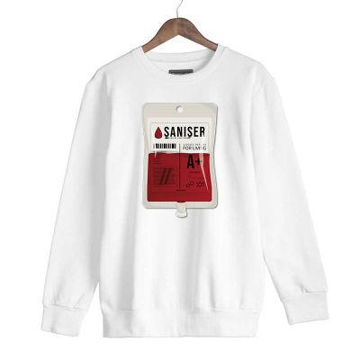 HH - Şanışer Blood Beyaz Sweatshirt