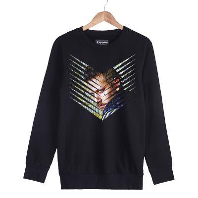 HH - Şanışer Pinales Siyah Sweatshirt