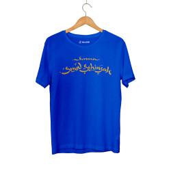 HH - Şehinşah Karma Mavi T-shirt - Thumbnail