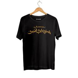 HH - Şehinşah Karma Siyah T-shirt - Thumbnail