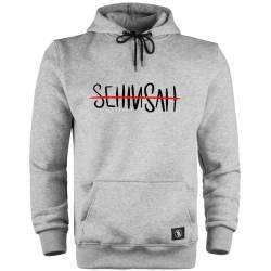 Şehinşah - HH - Şehinşah Tipografi Cepli Hoodie