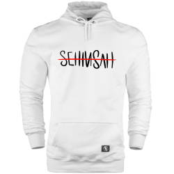 HH - Şehinşah Tipografi Cepli Hoodie (Fırsat Ürünü) - Thumbnail