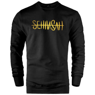 HH - Şehinşah Tipografi Gold Sweatshirt