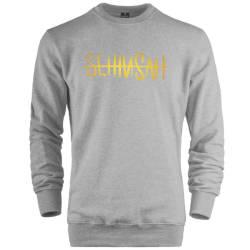 HH - Şehinşah Tipografi Gold Sweatshirt - Thumbnail