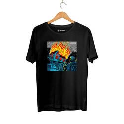 HH - Şehinşah Yak Siyah T-shirt (Seçili Ürün) - Thumbnail