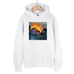 Şehinşah - HH - Şehinşah Yak Beyaz Cepsiz Hoodie