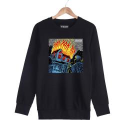 Şehinşah - HH - Şehinşah Yak Siyah Sweatshirt