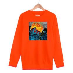 Şehinşah - HH - Şehinşah Yak Turuncu Sweatshirt