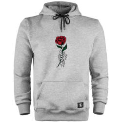 HollyHood - HH - Skeleton Rose Cepli Hoodie