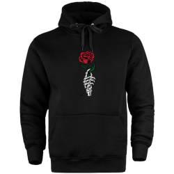 HollyHood - HH - Skeleton Rose Cepli Hoodie