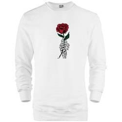 HH - Skeleton Rose Sweatshirt - Thumbnail