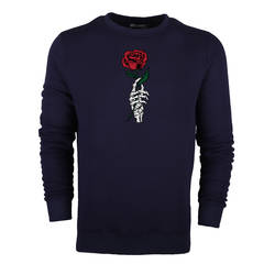 HollyHood - HH - Skeleton Rose Sweatshirt