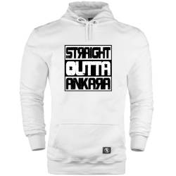 HH - Straight Outta Ankara Cepli Hoodie - Thumbnail