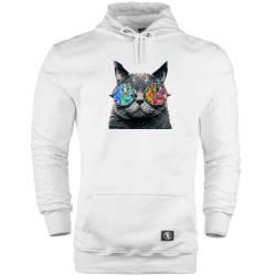 HH - The Street Design Cat Cepli Hoodie - Thumbnail
