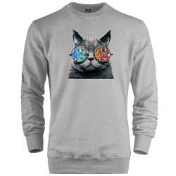 HH - The Street Design Cat Sweatshirt - Thumbnail