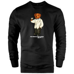 HH - The Street Design Cheers Bear Sweatshirt - Thumbnail