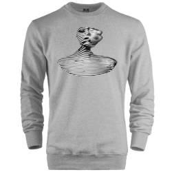 HH - The Street Design Grid Woman Sweatshirt - Thumbnail