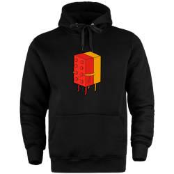 HH - The Street Design Lego Cepli Hoodie - Thumbnail