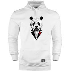 HH - Smokin Panda Cepli Hoodie - Thumbnail