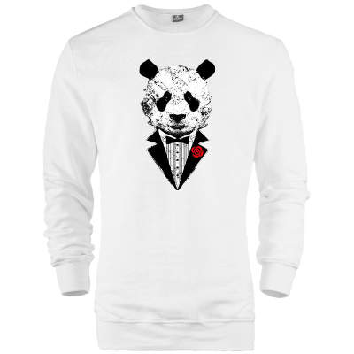The Street Design - HH - Smokin Panda Sweatshirt