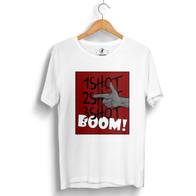 HH - Tankurt Boom Beyaz T-shirt (Seçili Ürün)