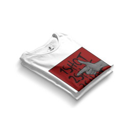 HH - Tankurt Boom Beyaz T-shirt (Seçili Ürün) - Thumbnail