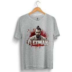 HH - Tankurt Flexman Gri T-shirt (Seçili Ürün) - Thumbnail